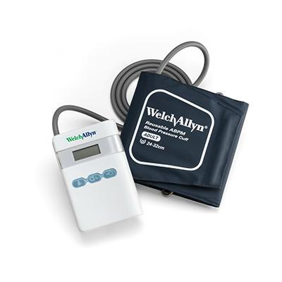 Welch Allyn ABPM 7100 Ambulatory Blood Pressure Monitor with Pulse Wave Analysis.