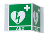 ILCOR Universal AED 3D Wall Sign