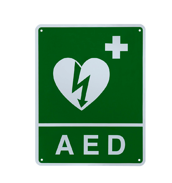 Ilcor Aed Universal Wall Sign