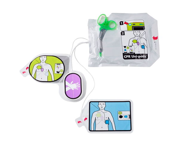 Protective Film Solutions >> Zoll Universal CPR Uni-padz Defibrillation Electrodes