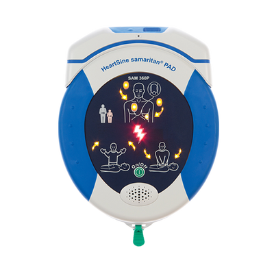 AED HeartSine samaritan 360P 360W Fully Automatic Defibrillator with LIFELINKcentral Software and Gateway Wifi Module 1
