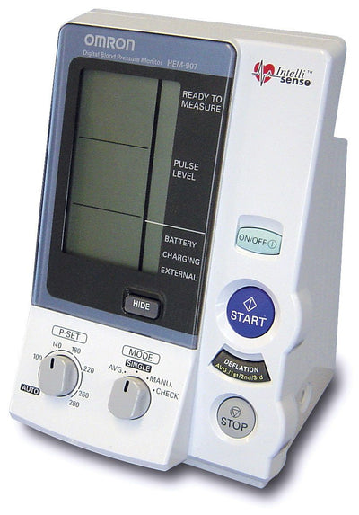Omron HEM-907 Blood Pressure Automatic Monitor