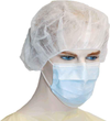 Sentry Medical Beret Bouffant Surgical Cap White RC004 1
