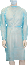 Clinical Protective Apparel Sentry Medical GN001 Splash Proof Gown 1
