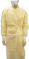 Sentry Medical Yellow Impervious Gowns