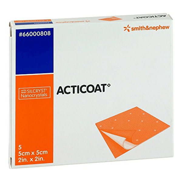 Smith And Nephew Acticoat Wound Dressing