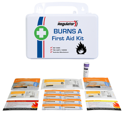 First Aid and Resuscitation Kits Regulator Burns Kit Including Contents A AFAKBNA 1