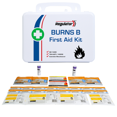 First Aid and Resuscitation Kits Regulator Burns Kit Including Contents B AFAKBNB 1