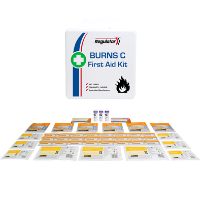 First Aid and Resuscitation Kits Regulator Burns Kit Including Contents C AFAKBNC 1