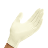Mun Global Latex Powder Free White Examination Gloves 1