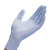 Mun Global Nitrile Long Cuff Blue Examination Glove 1