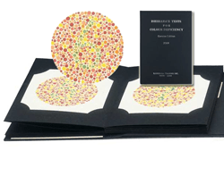 Kanehara Ishihara Colour Blindness Test Book