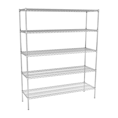 Nimble 5 Tier Wire Shelving Units - 689mm (Depth)