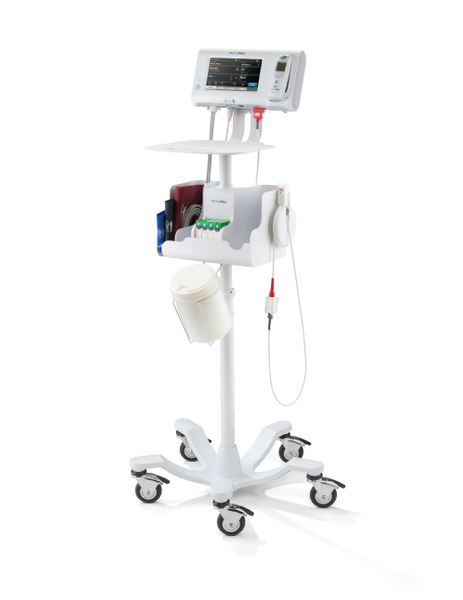 Welch Allyn Mobile Work Stand For Connex Spot Monitors Csm