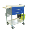 Pacific Medical Treatment Trolley Cart 2 Drawer with Bins 1