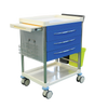 Pacific Medical Treatment Trolley Cart 3 Drawer with Bins 1