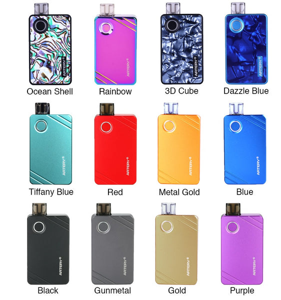 Artery PAL II Starter Kit 1000mAh colors usa buy