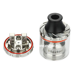 Arctic Dolphin Hector RTA Atomizer - Silver - Mygadget.us