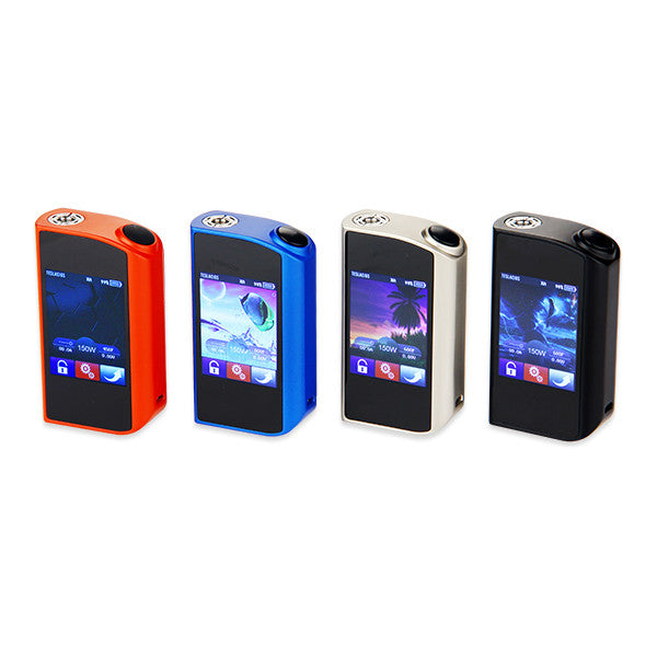 Excellent performances and easily operation 150W Tesla Touch TC Box Mod - Ecigar  - 1