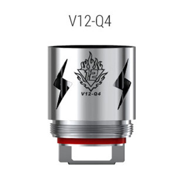 3pcs SMOK V12-Q4 Coil for TFV12 Pre-order 20.60 USD - Mygadget.us