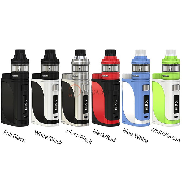 85W Eleaf iStick Pico 25 with Ello TC Starter Kit White/Black - Mygadget.us