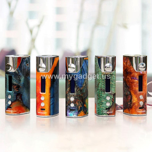 Incredibly Designed Arctic Dolphin Arthur 80W TC Natural Stabilized Wood Box Mod Pre-order - Mygadget.us