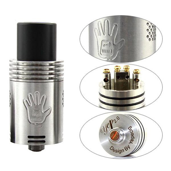 Authentic YEP V2 RDA with Adjustable airflow control. - Mygadget.us