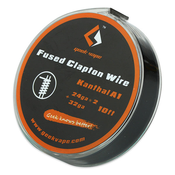 10ft GeekVape Kanthal A1 Fused Clapton Wire - Ecigar  - 1