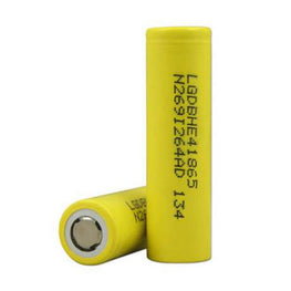 Authentic LG 18650-HE4 2500mAh Battery 8C 20A - Mygadget.us