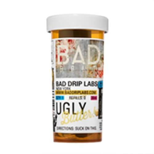Great Premium E-Juice Ugly Butter by Bad Drip Salts