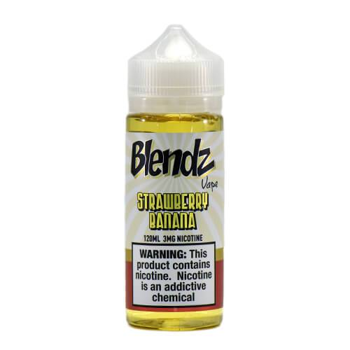Premium E Liquid Strawberry Banana by Blendz Vape