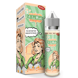 Excellent E-Juice Peach Cobbler A La Mode By Apollo