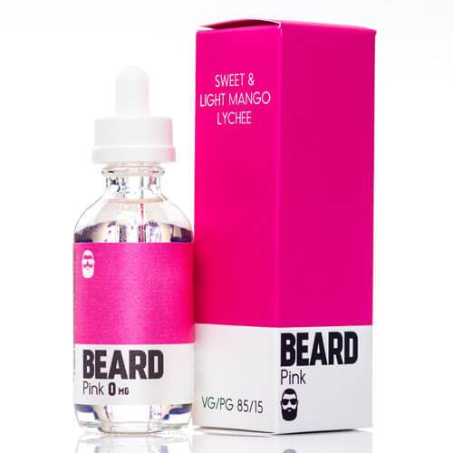 Tasty E Liquid Pink by Beard Color