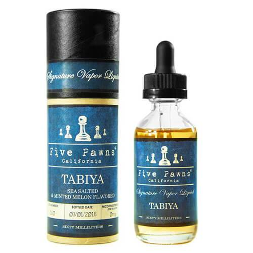 Delectable E-Juice Tabiya by Five Pawns