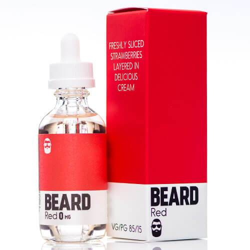 Delectable E-Juice Red by Beard Color