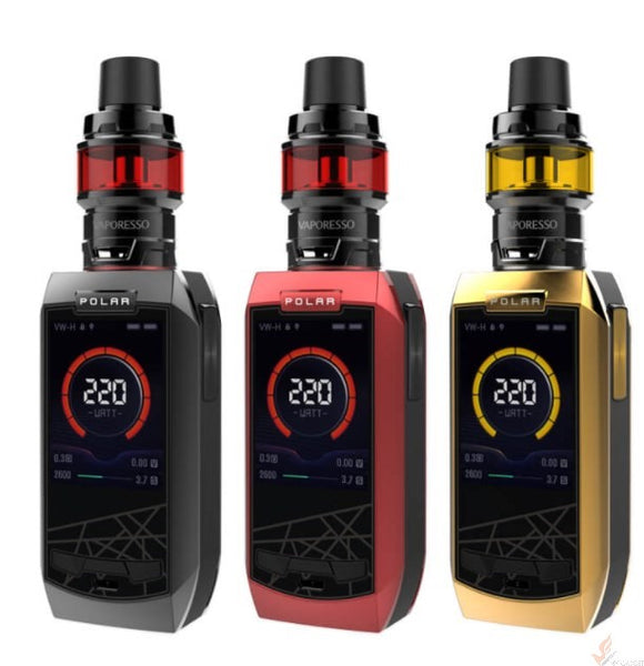 Vaporesso Polar Kit 220W with Cascade Baby SE tank