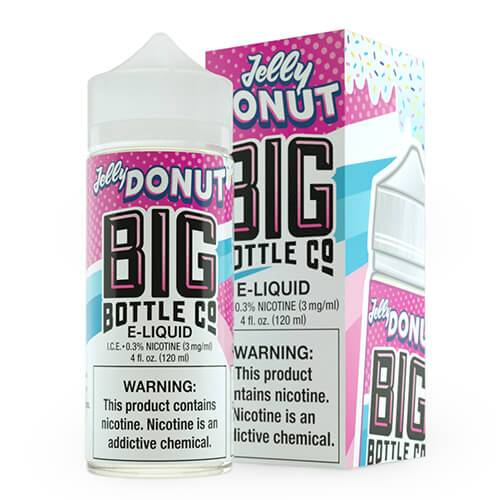 Flavorful E-Juice Jelly Donut by Big Bottle Co.