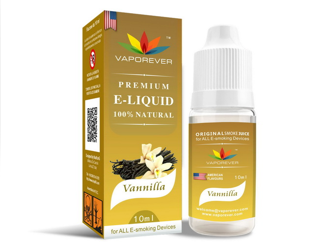 "10ml E-Juice ""Vaporever"" With Rich and Saturated Taste - Ecigar  - 1"
