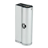 40W Kangertech KBox 18650 VW BOX MOD W/O Battery - BLACK AND SILVER COLOR - Mygadget.us