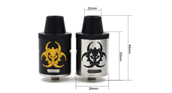 Virus RDA With Unique Design High Quality Clone - 11.81 USD - Ecigar  - 1