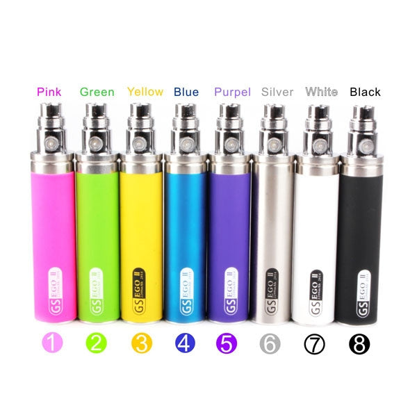 Battery for EGO 2 Series E-Cigarette - 9 Optional Colors 2200mAh - Mygadget.us