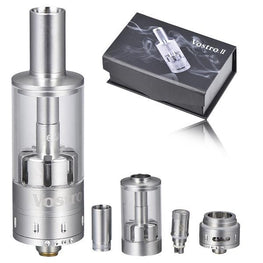 3.0ml Vostro II Adjustable Dual Coil Clearomizer - Mygadget.us
