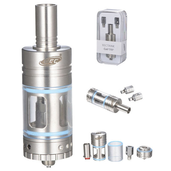Tank Atomizer Stainless Steel Color 6.0ml - Ecigar  - 1