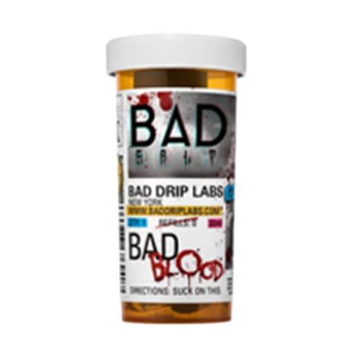 Rich Flavor E-Juice Bad Blood by Bad Drip Salts