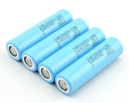 4 PCS INR18650 SAMSUNG 2500mAh Battery 20A - Mygadget.us