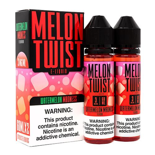 120ml WATERMELON MADNESS BY MELON TWIST E-LIQUIDS