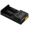 Nitecore Intellicharger New I2 Li-ion / NiMH Battery 2-slot Charger - Ecigar  - 4