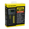 Nitecore Intellicharger New I2 Li-ion / NiMH Battery 2-slot Charger - Ecigar  - 6
