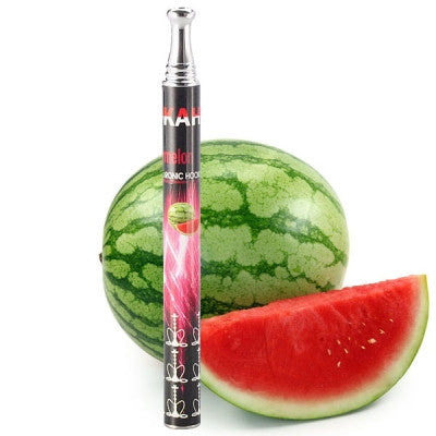 350mAh 800 Puffs Watermelon Flavor Disposable Electronic E-hookah with Crystal Bottom - Mygadget.us
