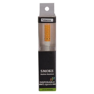 2014 New Smoke 180mAh 11mg 500 Puffs Disposable Electronic Cigarette - Tobacco Flavor - Mygadget.us